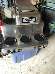 Bunn Coffee Maker Work Horse Of The Industry