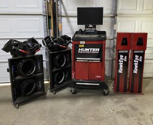 Hunter Hawkeye Elite Alignment Quick Check Machine Complete And Updated 2019