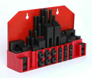 58pcs set Clamping Kits For Mills With 5 8 T Slot And 1 2 13 Studs