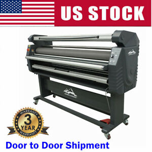 Qomolangma 1700mm Electric Full auto Large Format Roll to roll Cold Laminator