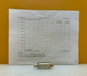 Noisecom Nc3208 1 To 18 Ghz 24 Db Enr 28 Vdc Noise Source Tested Data