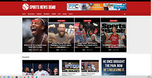 Sports News Website Affiliate Product Website 100 Automated