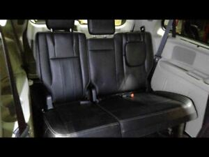 Third Row Seat Black Leather Fits 2015 Town Amp Country Trim Code Mlx1 699278