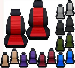 Front Bucket Car Seat Covers With Inside Armrest Fits Gmc Yukon 1995 1999