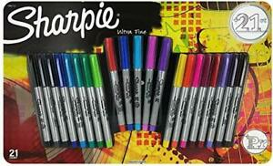 Sharpie Electro Pop Permanent Markers Ultra Fine Point Markers Assorted Col