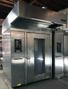 Hobart Hba2g Double Rotating Rack Gas Bakery Resaurant Oven With c Rack Lift