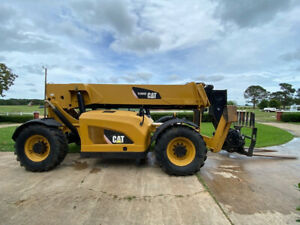2013 Cat Tl1055c Orops Telehandler With 4wd