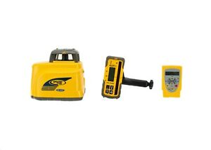 Spectra Precision Gl422 Laser W Hl700 Laser Receiver And Rc402 Remote Control