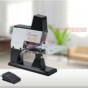 Dual use Electric Flat Saddle Stapler A3 Stapling Machine Binder With Pedal