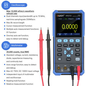 Hds272s 3 In 1 Protable Digital Oscilloscope For Car Audio Automotive Electronic