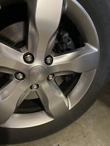 Grand Cherokee 2011 2013 Full Set Wheels And Tires And Spare