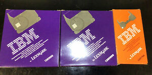 Ibm Easystrike Correction Ribbon 1380999 And Liftoff Tape 1337765 Lot Of 3