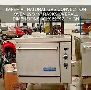 Imperial Gas Convection Oven Natural Gas 2 Units Available Counter Top