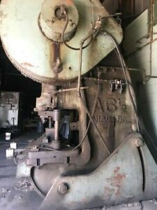 Niagra A 6 1 2 190 Ton Inclinable Stampling Press