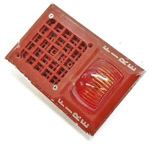 Space Age Electronics Electric Horn Wall Mounted Fire Alarm System 2dcd