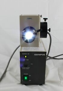 Olympus 100w Hbo Lamp House Power Supply Fluorescence Bh2 Imt2 Microscope