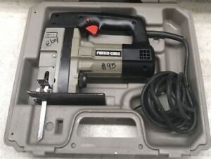 Porter Cable Hd Industrial Jig Saw Variable Speed 7549 W Case Used