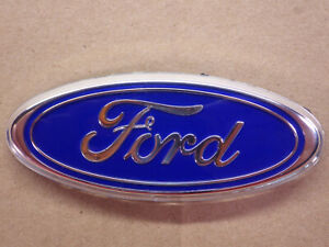 Ford Blue Oval Emblem Official Oem 3 1 2 In W Posts 3 5 Inches Mustang Ranger