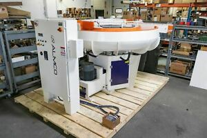 Almco Refurbished Or 25vlr Vibratory Finishing Bowl 2020 Great For Deburring