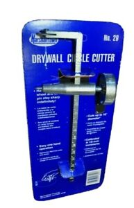 Marshalltown Drywall Circle Cutter 16in Old Stock Made In Usa