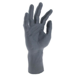 Down Soft Pvc Realistic Male Mannequin Hand For Display Freestanding