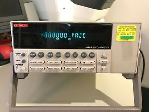 Keithley 6485 Picoammeter Recently Calibrated