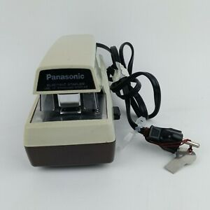 Vintage Panasonic As 300 Electric Stapler Industrial Business Use 1 4 Staples
