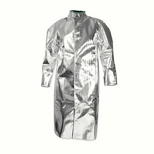 National Safety Apparel C17as_ _50 Aluminized Acrysil 50 Coat Made In Usa