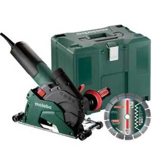 Metabo 600408680 10 5 Amp 5 Masonry Cutting Grinder W rollers New