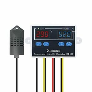 Digital Thermostat Humidity Controller 120v 10a Fahrenheit Temperature Switch