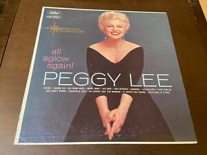 Peggy Lee All Aglow Again 1960 Capitol Mono LP INNER Female Jazz Vocal Pop $11.90