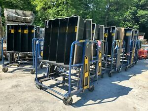 Industrial Cart Carts With Plastic Bins