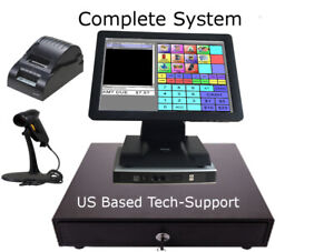 Point Of Sale Pos System Register Retail Grocery Gift Smoke No Monthly Fees