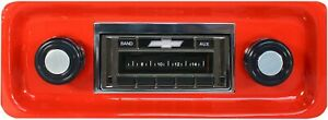 1967 1972 Chevy Truck New Am Fm Stereo Radio Usa 230 200 Watts Auxiliary In