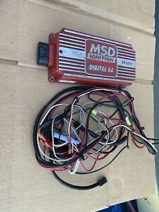 Msd 6201 6a Digital Cd Ignition Box W Partial Wire Harness
