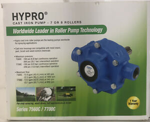 Hypro Cast Iron Pump 7 Or 8 Rollers Series 7560c 7700c