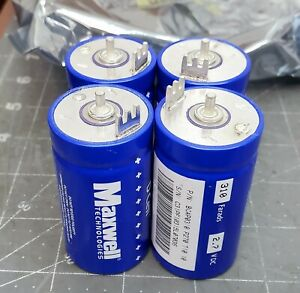 4 Maxwell Technologies Bcap0310 P270 T10 10 Ultra Capacitor 2 7v Dc 310f of21