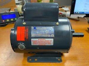 New Emerson 1 Hp Electric Ac Motor 115 230 Vac 1725 Rpm 1 Phase 145t Frame
