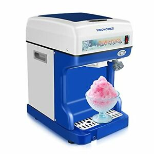 Ice Crusher Shaved Ice Machine electric Automatic Ice Crusher home commercial