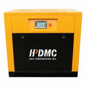 5 5hp 230v Variable Speed Rotary Screw Air Compressor 19cfm 125 150psi