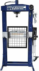 40000lbsteel H frame Hydraulic Garage shop Floor Press Withhandandfoot Pumppedal