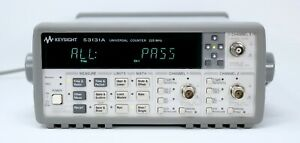 Hp Agilent 53131a 225 Mhz Universal Frequency Counter timer With Opt 010 030