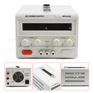 Mp3020d New 0 30v 0 20a Linear Dc Bench lab Power Supply Regulated Variable Led