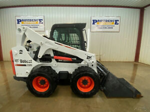 2012 Bobcat Cab S650 Wheeled Skid Steer Loader With A c And Heat