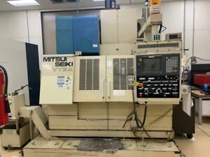 Mitsui Seiki Vt3a Vmc 2003 Tooling Included Fanuc 15 m