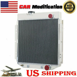 3 Rows Aluminum Radiator Fit 1961 1965 Ford Econoline 6cyl Engine 1962 1963 1964