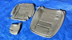 94 95 Volvo 850 Glt Turbo Oem Taupe Driver Left Side Leather Seat Cover 3 Pieces