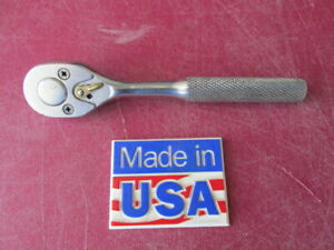 Proto Professional 1 4 Drive Ratchet Socket Wrench Vg Used 4749 Made In Usa