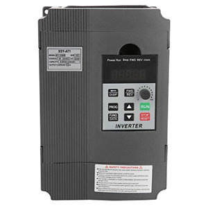 Single Phase Vfd Drive Vfd Inverter Professional Variable Frequency Drive 2 2kw