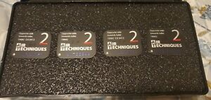 Used 4 Pack Size 2 Dental Air Tech Type X ray Phosphor Plates